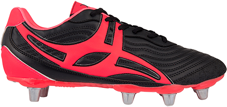 Gilbert rugbyschoenen S/Step V1 Lo8S Hot Red 13