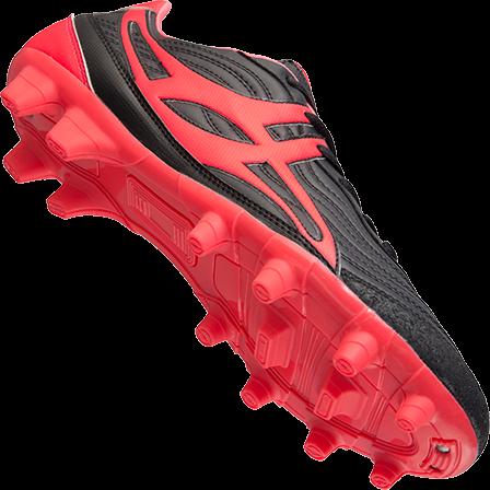 Gilbert rugbyschoenen sidestep V1 Lo Msx Hot Red 5-2