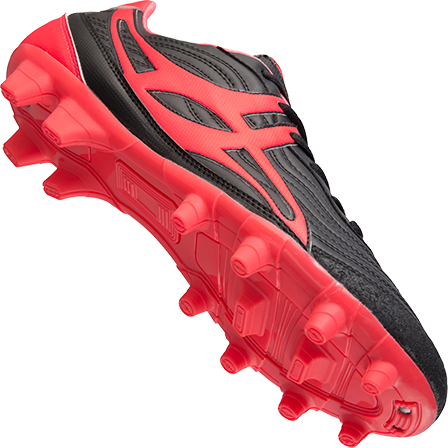Gilbert rugbyschoenen sidestep V1 Lo Msx Hot Red7.5 maat 41-2