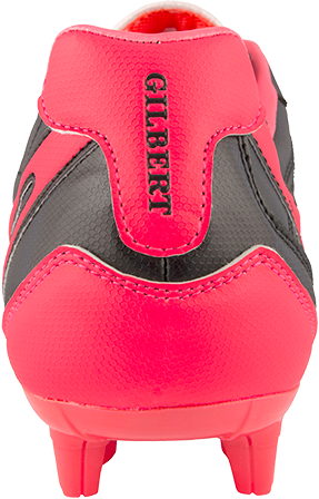 Gilbert rugbyschoenen sidestep V1 Lo Msx Hot Red 4-3