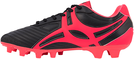 Gilbert rugbyschoenen sidestep V1 Lo Msx Hot Red 4