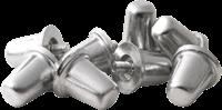 Gilbert Studs Aluminium 21Mm (100)