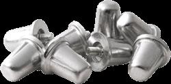 Gilbert noppen Aluminium 21Mm (100)