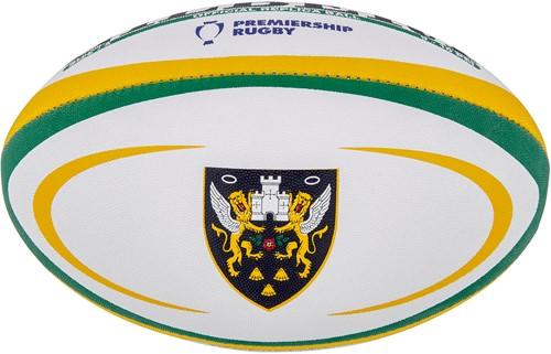 Gilbert rugbybal REPLICA NORTHAMPTON - Mini 15cm