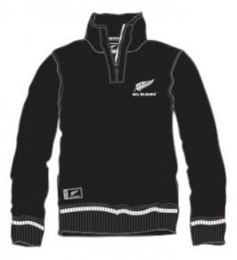 All Blacks 1/4 zip hoodie