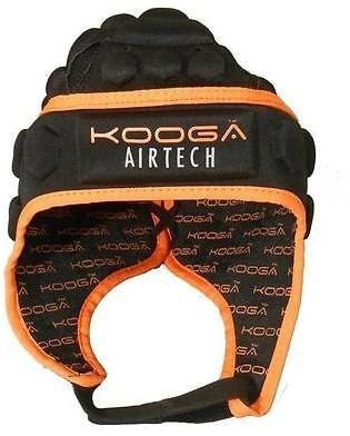 Kooga Rugby scrumcap Stag Airtech Loop  Oranje - 51 cm hoofdomtrek - 3XS
