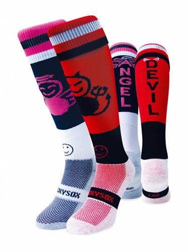 WackySox Engel & Duivel sokken  Multi - 46-49
