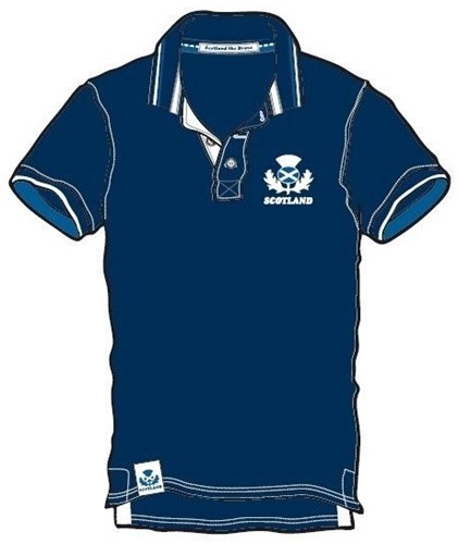 Rugby Distribution Schotland Pique Polo heren Size : M