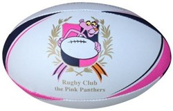 Bee Fit Sportswear rugbybal Pink Panther
