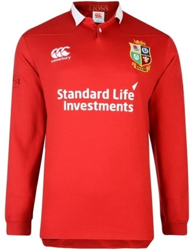 Cantebury Rugby shirt British Lions Short Sleeve