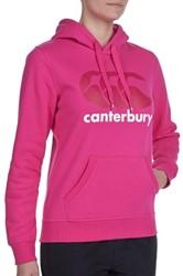CANTERBURY CLASSICS  OTH HOODY - 10 - Small BEETROOT PURPLE/GRANITA