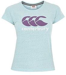 Canterbury T-shirt dames met logo