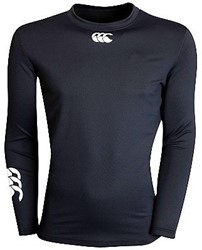 Canterbury Baselayer Hot lange mouw top  Zwart - L