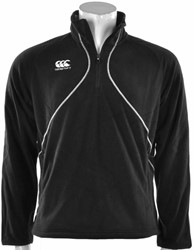 CANTERBURY CLASSIC FLEECE WOMENS - 10 - S BLACK