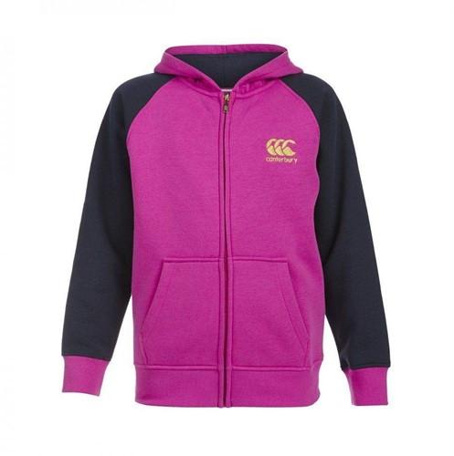 Canterbury Hoodie Zip thru meisjes roze 128