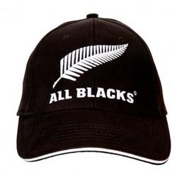 All Blacks clip back JR  zwart - JR