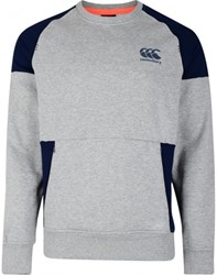 CANTERBURY CREW SWEAT - L - GREY