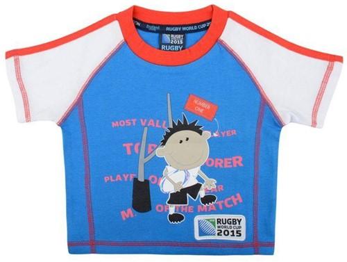 Rugby T-shirt kids WK 2015  blauw