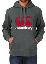 CANTERBURY CANTERBURY CLASSICHOODY - 3XL - CHARCOAL MARL