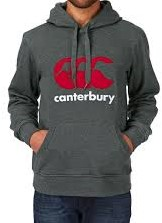 CANTERBURY CANTERBURY CLASSICHOODY - M - CHARCOAL MARL