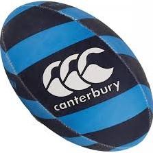 CANTERBURY THRILLSEEKER RUGBYBALL - SIZE 4 - DRESDEN BLUE/EVENING BLUE