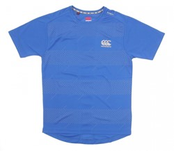 CANTERBURY ESSENTIALS  GRAPHICPOLY TEE -S