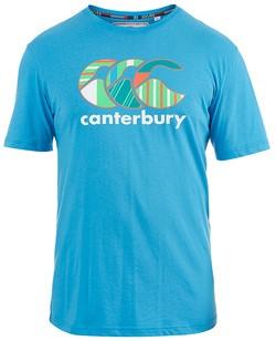 CANTERBURY UGLIES TEE - L - MALIBU BLUE