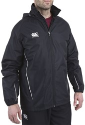 CANTERBURY CLASSIC FULL ZIP RAIN JACKET WOMENS BLACK