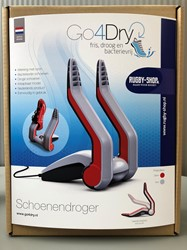 Go4dry Schoenendroger- rood-zwart