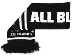 All Blacks sjaal  zwart - 125 cm