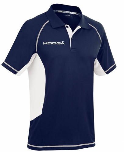 Kooga Rugby polo elite tech  Blauw - M