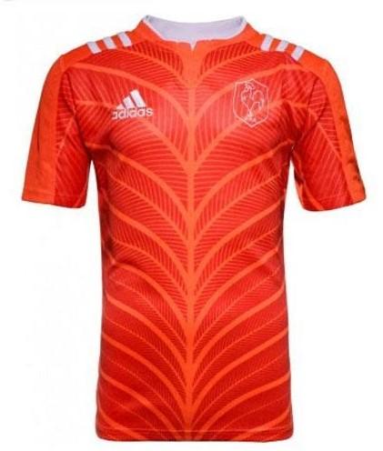 Adidas Frankrijk S/S Rugby Training Shirt  Oranje - XL