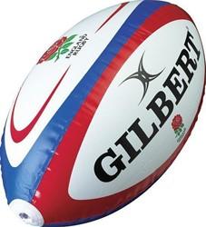 Gilbert Opblaasbare rugbybal Engeland 120 cm Color : Blauw