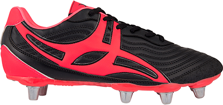 Gilbert rugbyschoenen sidestep V1 Lo8S Hot Red 11.5
