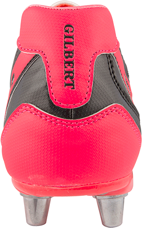 Gilbert rugbyschoenen sidestep V1 Lo8S Hot Red 11.5-3