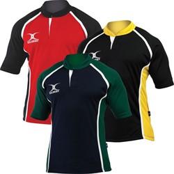Gilbert Shirt Xact Navy/Green 2Xs