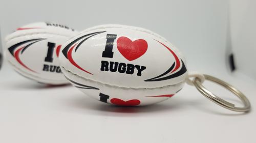 I Love Rugby sleutelhanger
