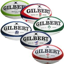 Gilbert rugbybal Match Xv Scotland maat 5
