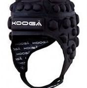 Kooga Rugby scrumcap Airtech Loop II  Zwart - 170