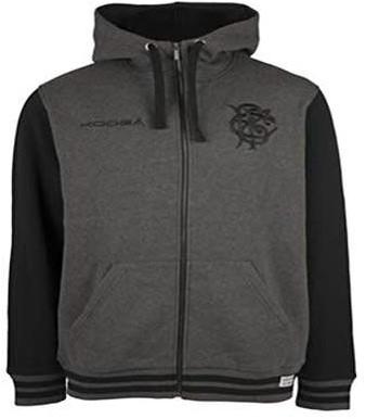 Kooga Barbarians hoodie met rits  grijs - 2XL