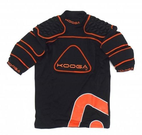 Kooga Rugby shoulderpads IPS Junior  Oranje - 164