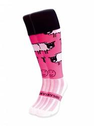 WackySox Roze schaap sokken