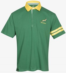 rugby shop Zuid Afrika Poloshirt korte mouw