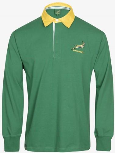 Zuid Afrika Long Sleeve  Groen - 2XL