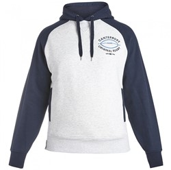 CANTERBURY BLOCKED RAGLAN HOODY -  CLOUD MARL