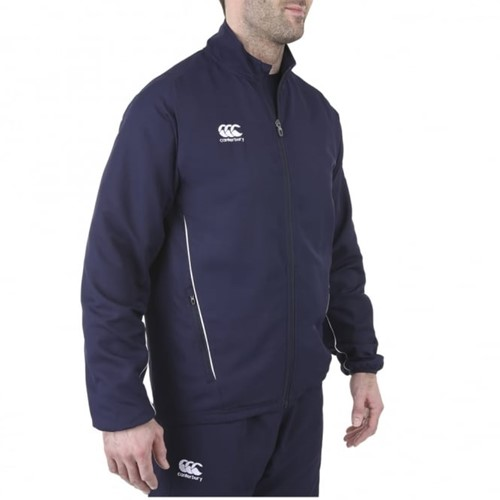 CANTERBURY CLASSIC TRACK JACKET SENIOR - 2XL - NAVY