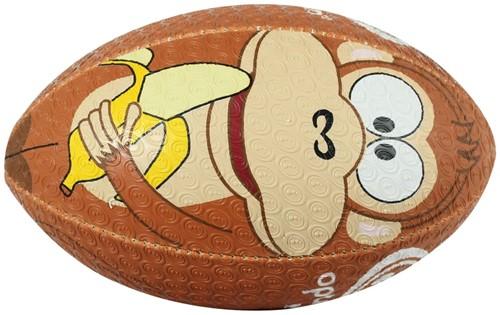 Optimum rugbybal Aap - maat MINI 15 cm