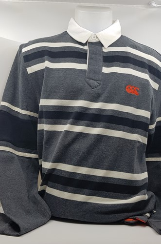 Long Sleeve Stripe Rugby Shirt Old School