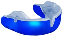 Opro mouthguard Gold , blue + 7 year