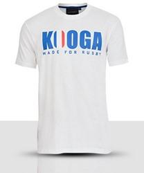 Kooga France international T-shirt  Wit - M
